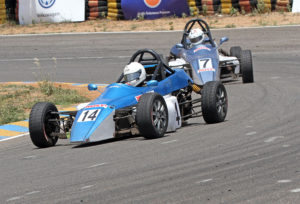 Tejasram CS (14) who won a double in the Rookie Cup (FF1300) category