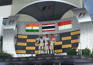 Maiden GP3 podium for Arjun Maini