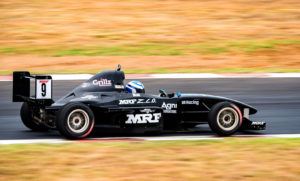 Vikash Anand who won the MRF F1600 Championship